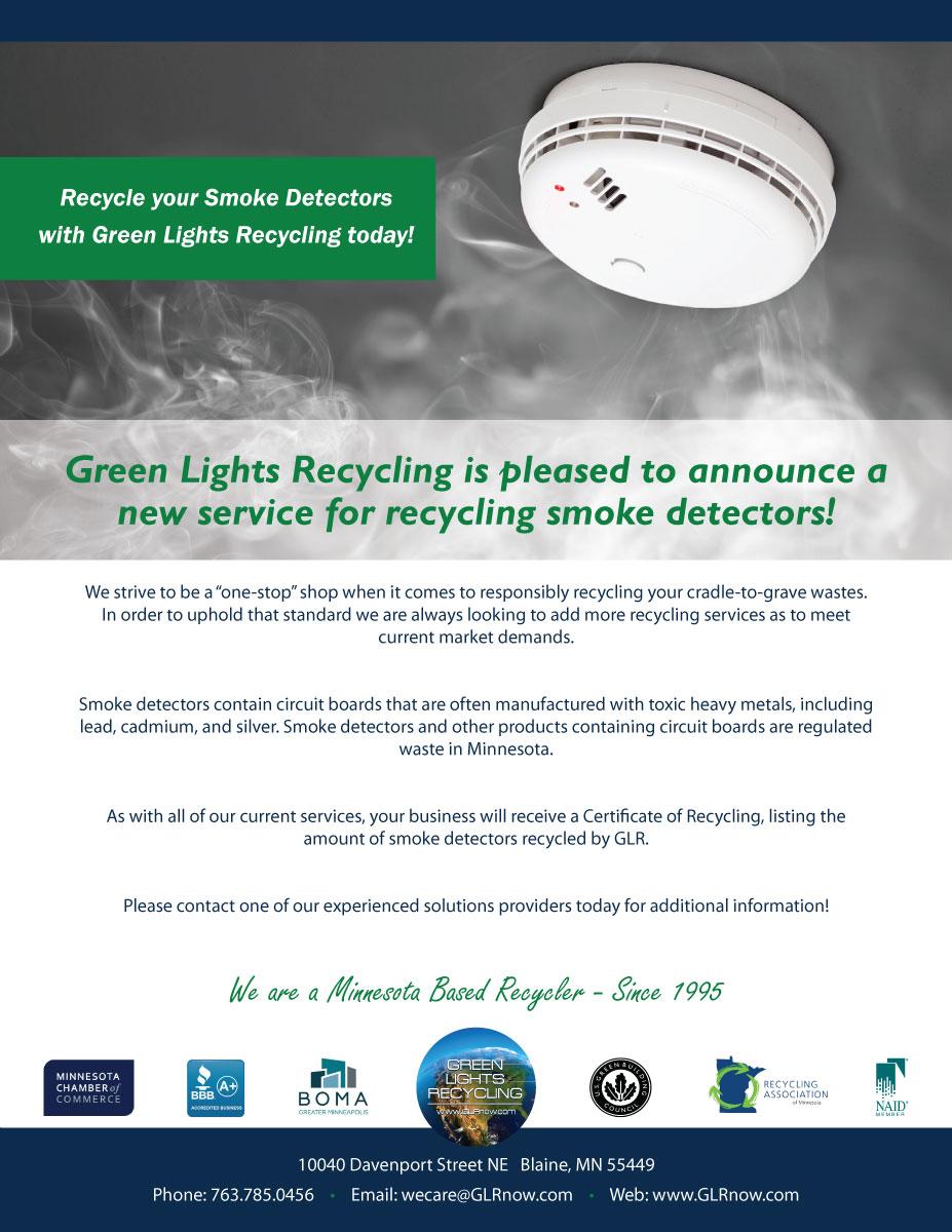 Green Lights Recycling We Recycle Electronics Mercury Recycledcircuitboardlamp1ajpg Smoke Detector